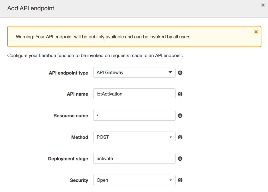 Aws lambda aws compute blog now test the access to the newly created api endpoint using a tool such as postman malvernweather Image collections
