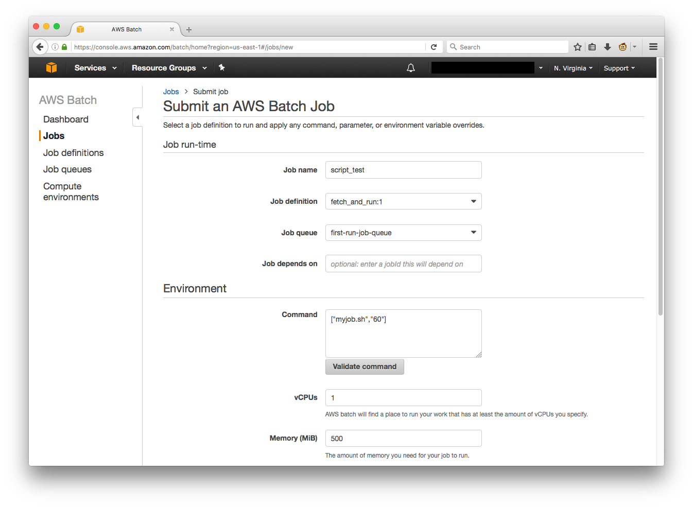 "Creating a Simple ""Fetch & Run"" AWS Batch Job 