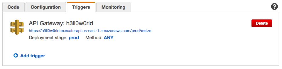 Resize Images on the Fly with Amazon S3, AWS Lambda, and Amazon API